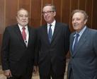 Excmo. D. Julio Bobes, Ilmo. D. Joaquín Fuentes e Ilmo. D. Carlos Hernández Lahoz
